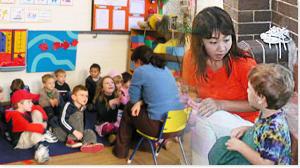 幼稚園ボランティアで英語を学ぶ!
