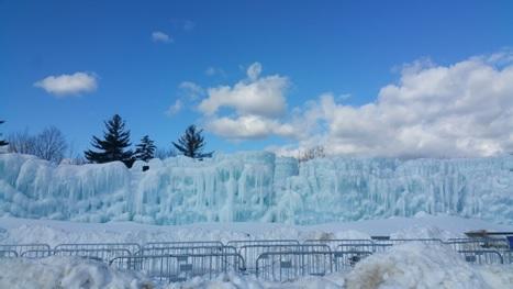 アメリカ東海岸の冬。美しい氷の風景を楽しむイベント