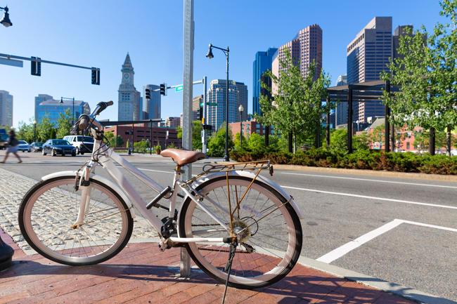 ボストンでの移動は自転車がおススメ!