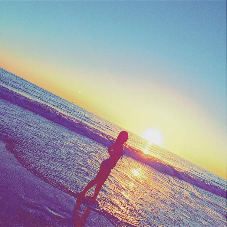 カリフォルニアの夕日