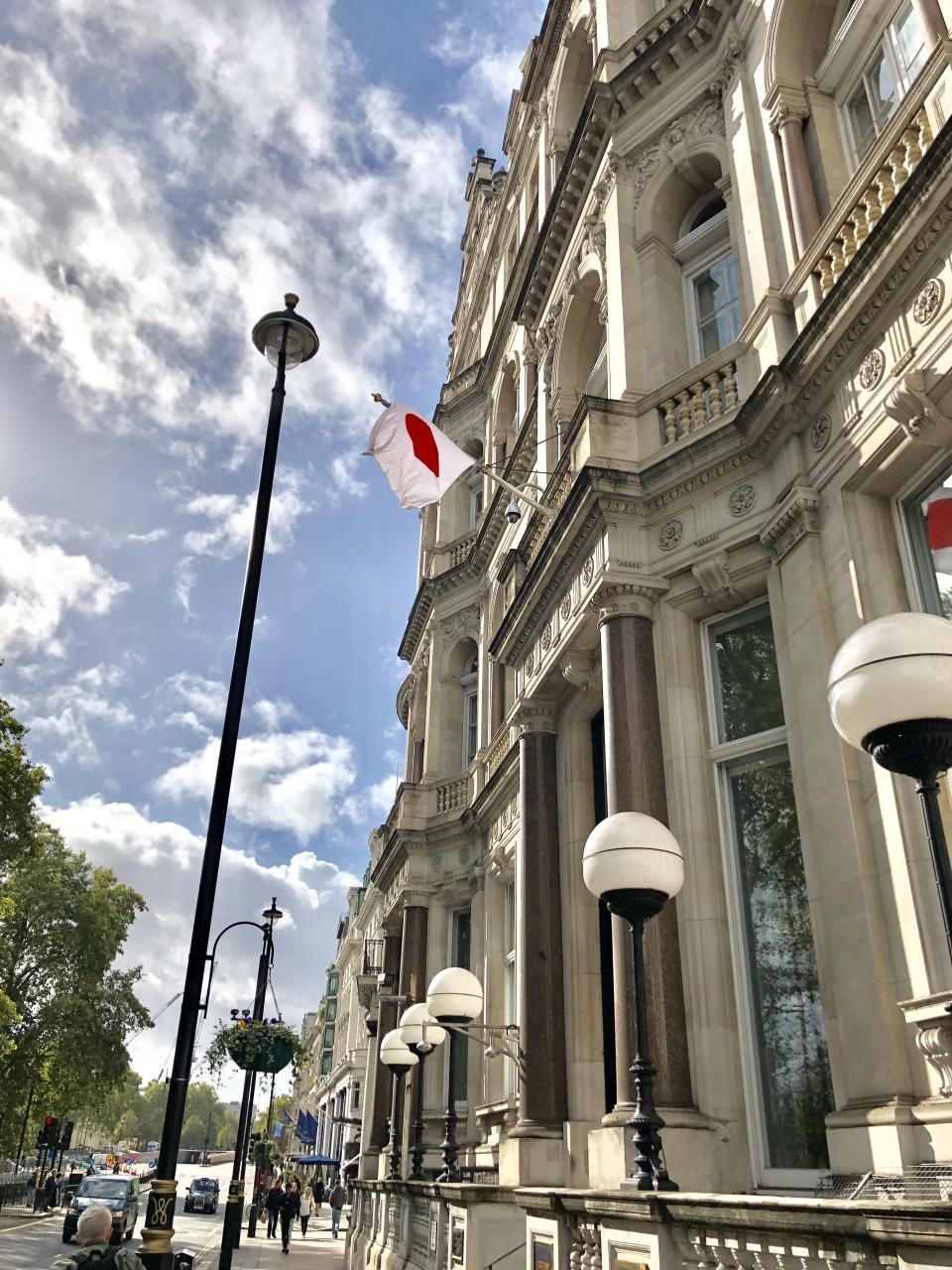 ロンドンにある在英日本大使館