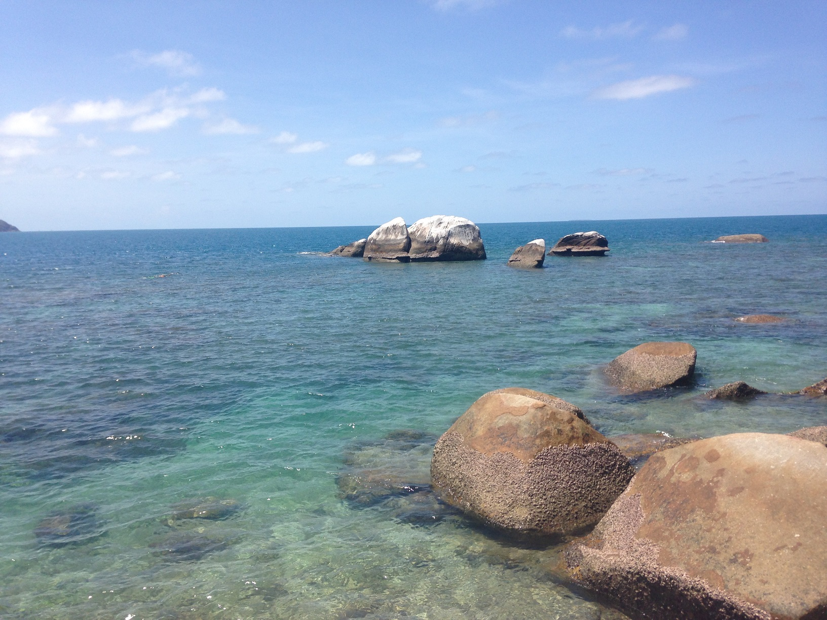 フィッツロイ島のビーチ2