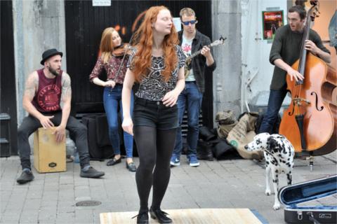 街の音楽イベント