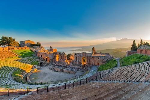 タオルミーナ ギリシャ劇場