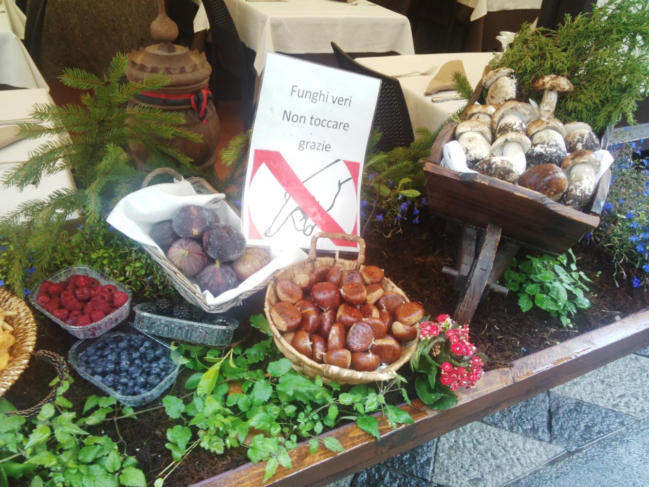 イタリアの季節の食材