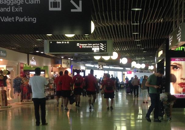 ブリズベン空港
