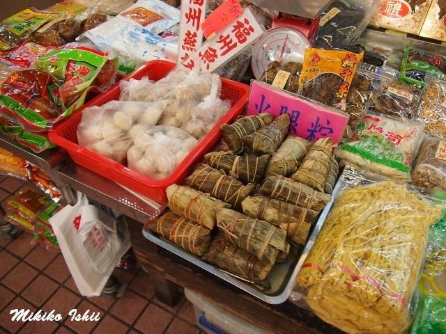 中華粽を売るお店