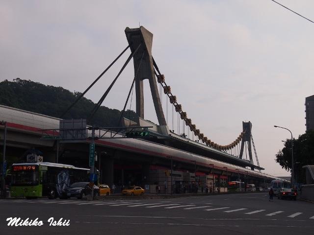 士林夜市の最寄駅MRT劍潭站