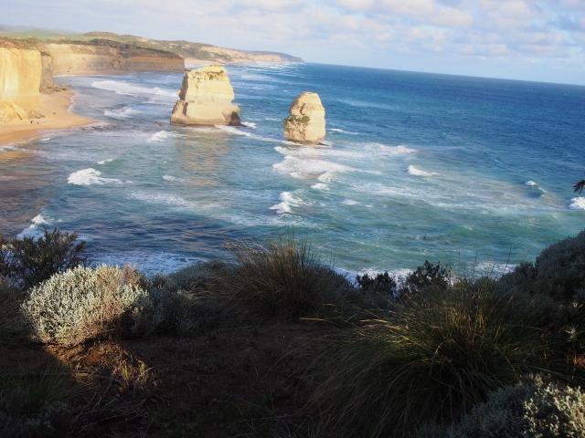 オーストラリア大陸の南端に位置する