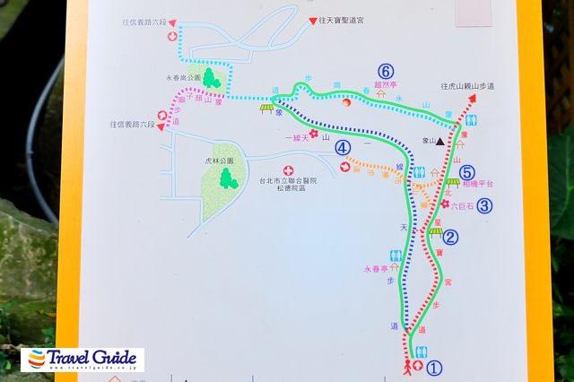 象山の地図