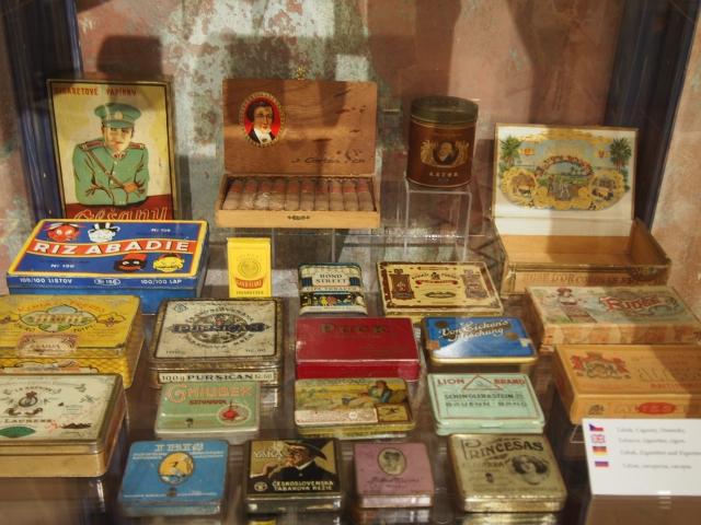 煙草のパッケージも可愛らしいデザイン