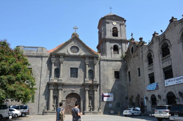 創建当初の姿で残る世界遺産のサン・オウガスチン教会