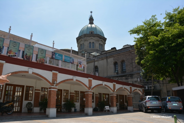 マニラ大聖堂のドーム屋根