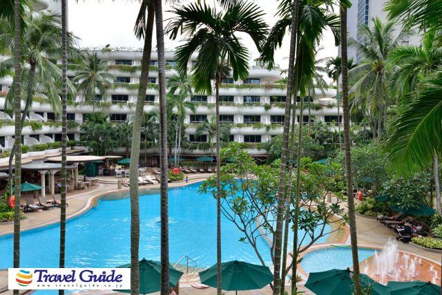 シャングリラホテル・シンガポール プール