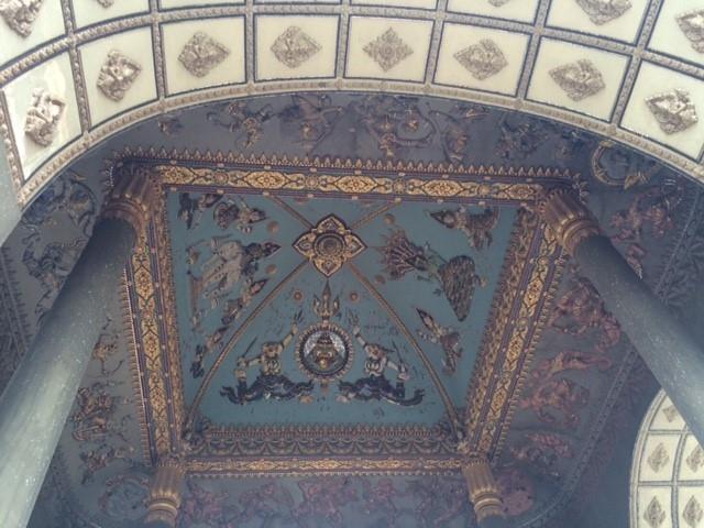 凱旋門内の天井画