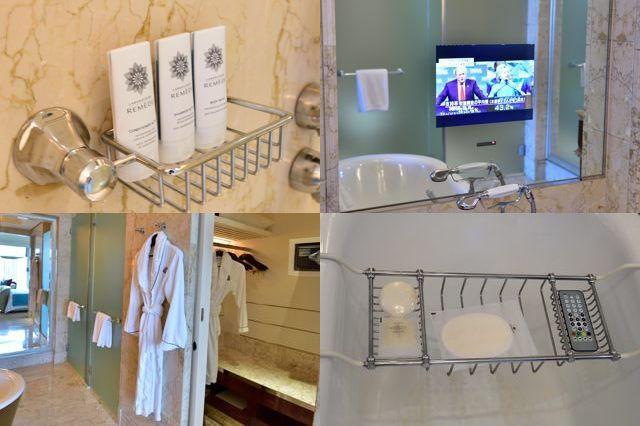 エグゼクティブデラックスルーム バスルーム備品
