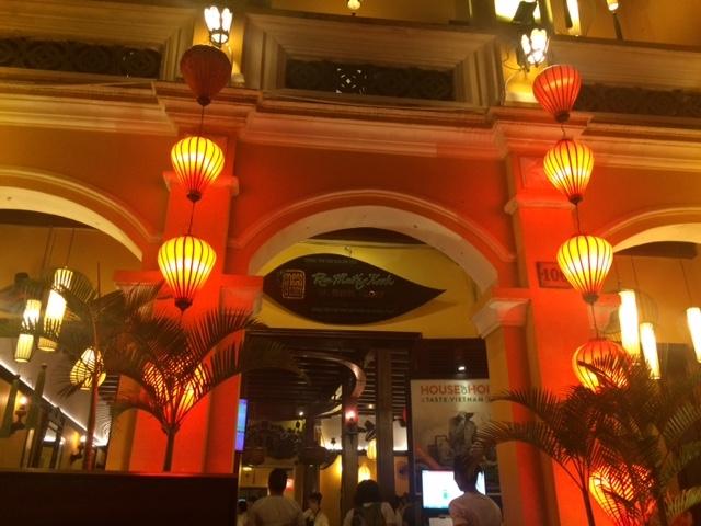 ランタンが素敵なモーニンググローリーレストラン