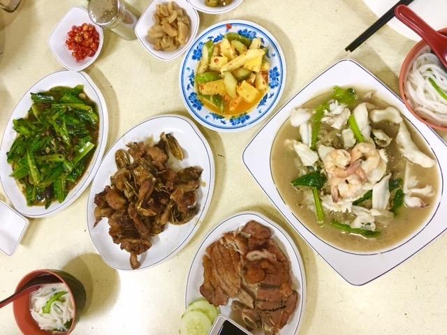 シンガポール 広東料理 中華 大人数 カジュアル 子連れ