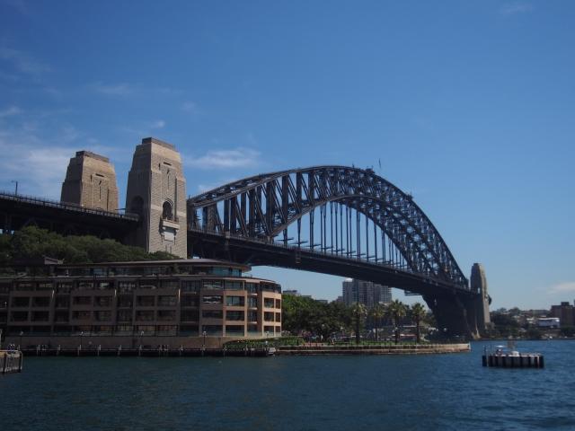 シドニーのランドマーク、ハーバーブリッジ