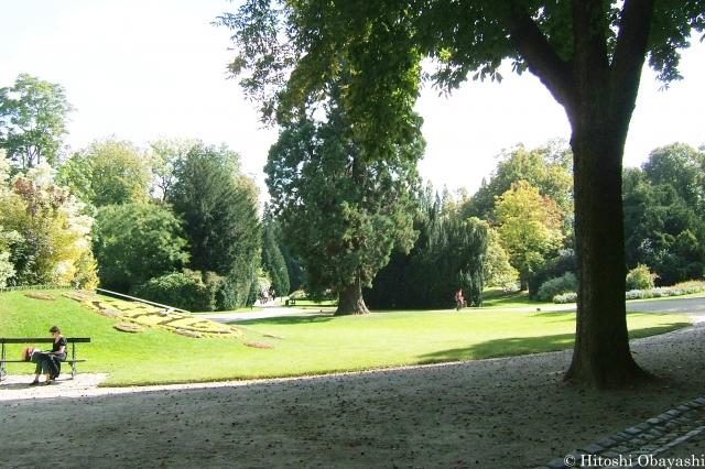 ロレーヌ公宮殿に隣接するペピニエール公園