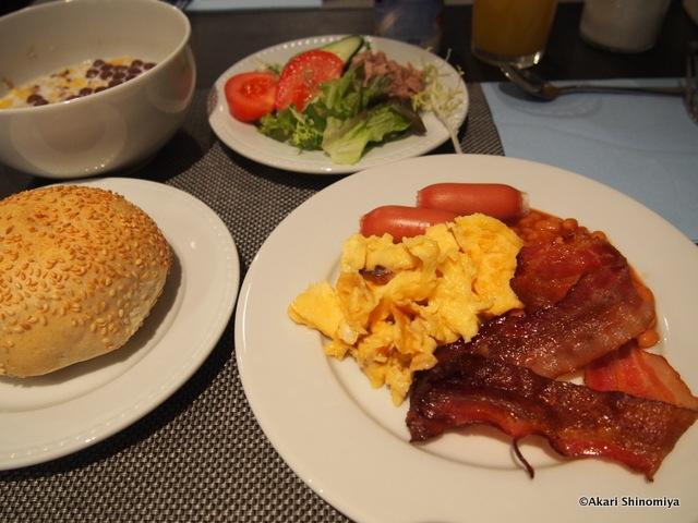 種類豊富な朝食バイキングがおいしい!