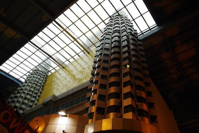 精巧に再現されているペトロナス・ツイン・タワー