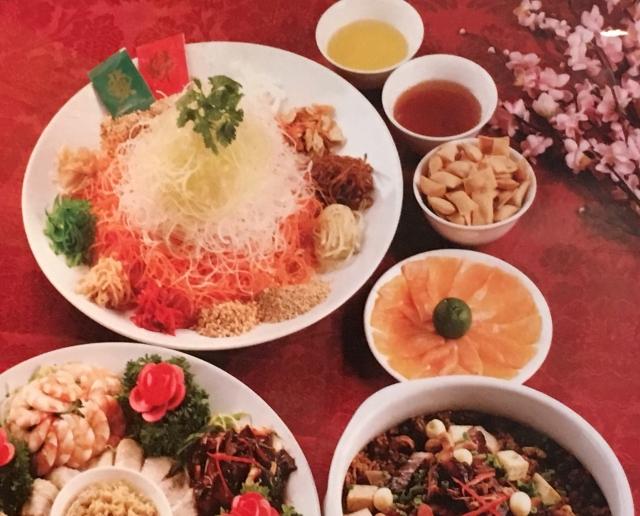 ユーシェンはシンガポールでの旧正月代表料理