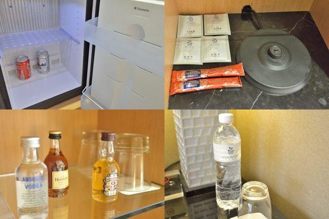 お部屋の客室内の備品
