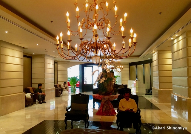バンコクの中でも有名な高級ホテル「ルブア」