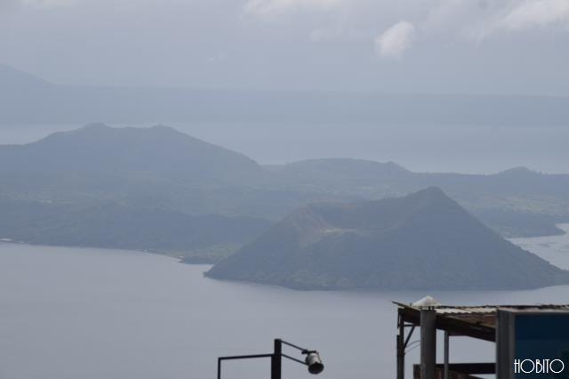 タール火山もバッチリ見えます