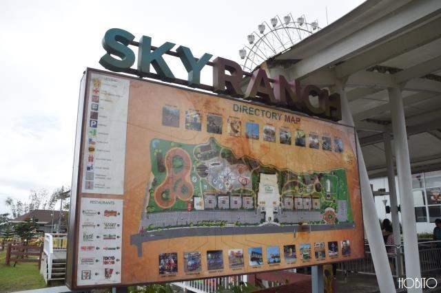 スカイ・ランチ(Sky Ranch)の入口