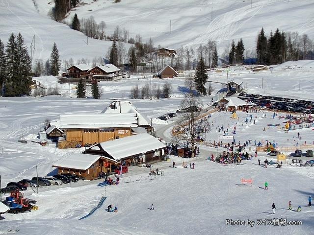 観光客でも気軽に行けるスキー場inスイス