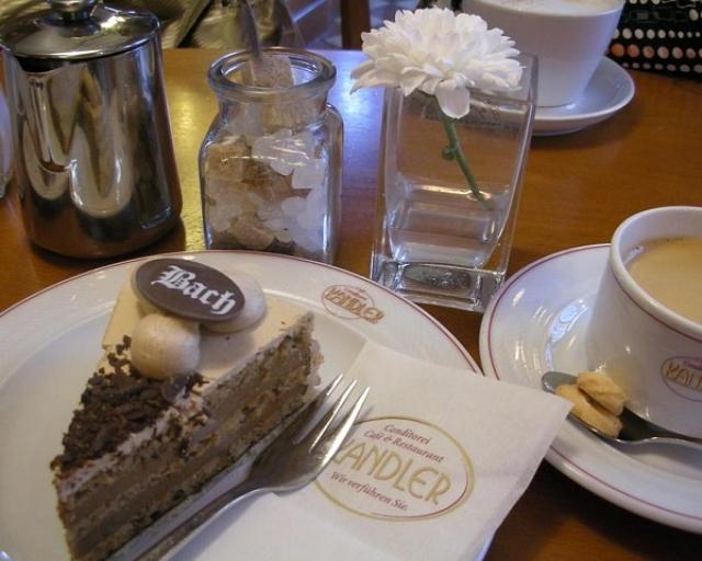 美味しい珈琲とバッハ・トルテ