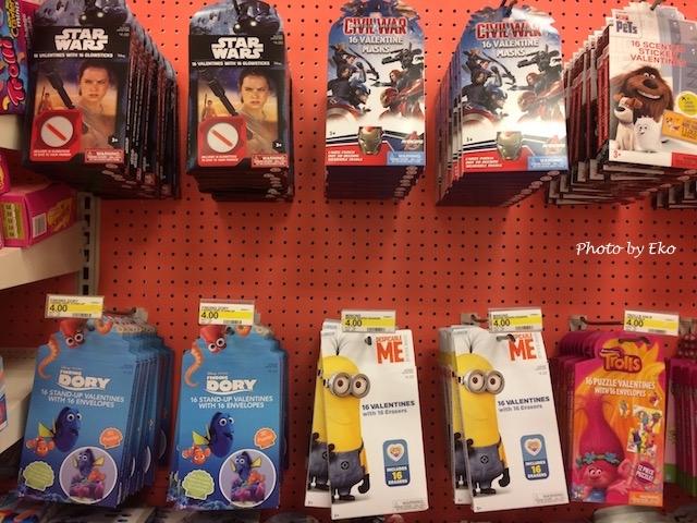 ディズニー系で人気の小さなカードセット