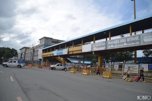 パダンガスピアのフェリーターミナル