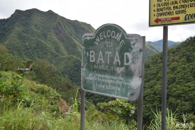 バタッド村に到着