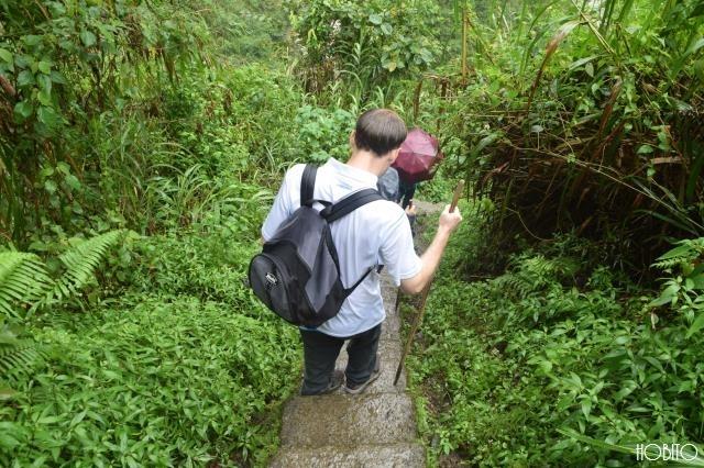 雨の中、ツアー続行