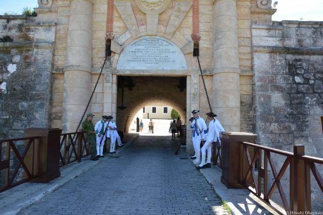 カバーニャ要塞の入口