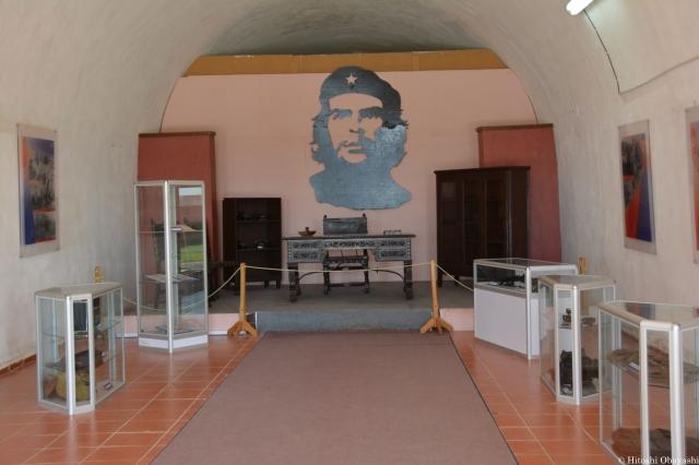 ゲバラの執務室が残るカバーニャ要塞の博物館