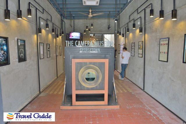 カメラ博物館の入口