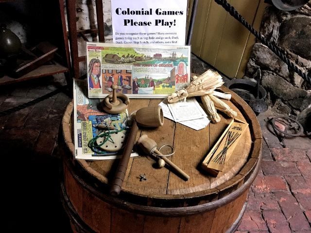 アメリカ合衆国がイギリス植民地だったころの木製玩具