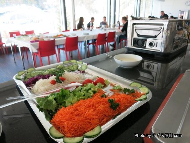 紅白のサラダ