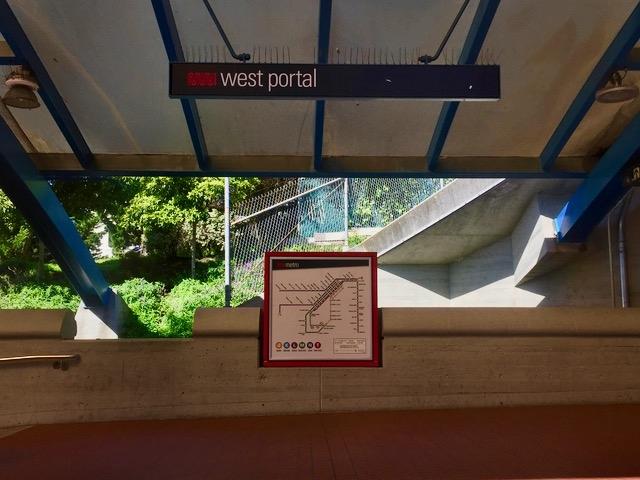 ウエストポータル駅