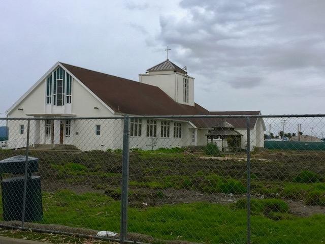 工事現場の教会