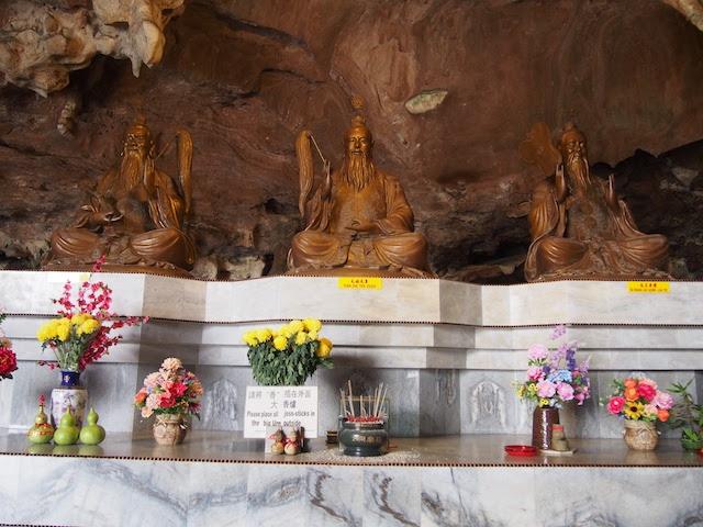 仏像が祀ってある祠