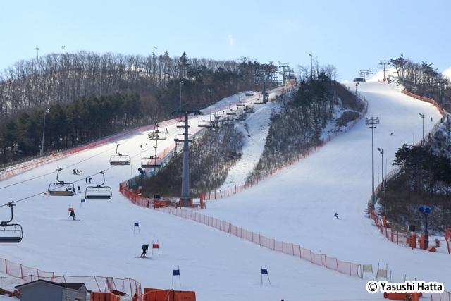 2018年に冬季五輪が開催されるアルペンシアリゾートスキー場