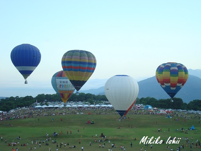 台東の気球フェスティバル
