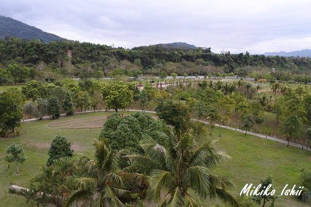鹿鳴温泉酒店の庭