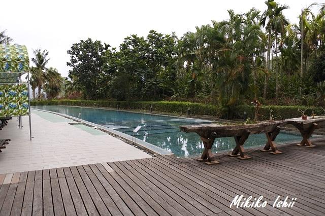 鹿鳴温泉酒店の屋外温泉プール