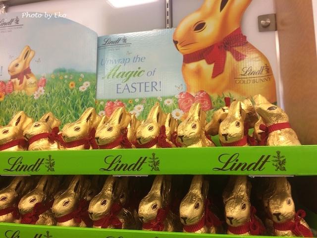 リンツのウサギ型チョコレート